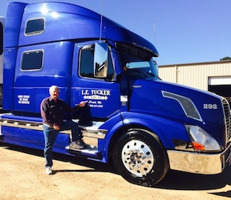 Charles Nester, Tucker Trucking driver since 1992